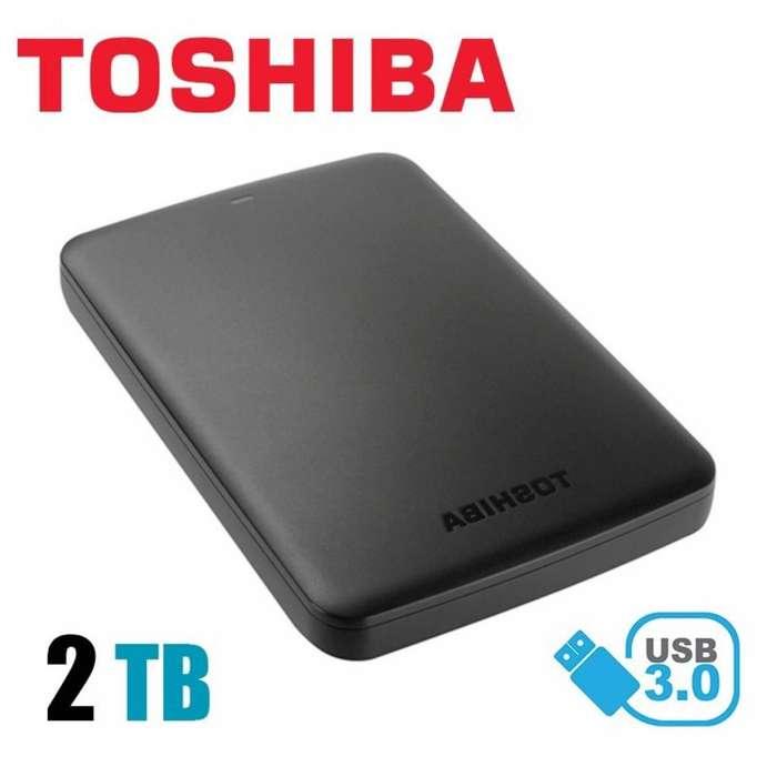 Disco Duro Externo Toshiba Can Ice 2 TB!!! Perfecto estado!!