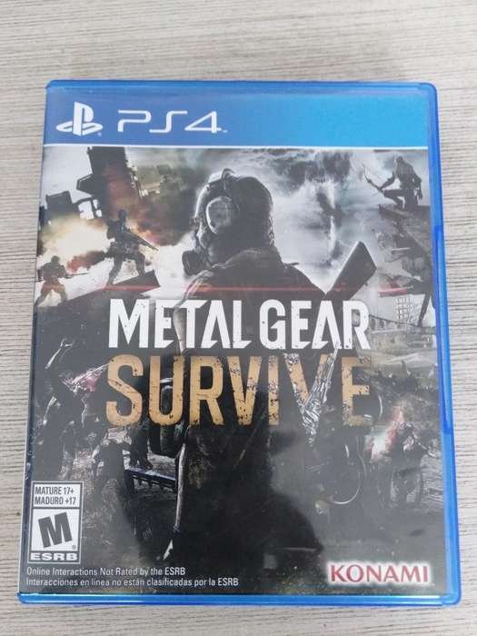 Vendo Metal Gear Survive Ps4