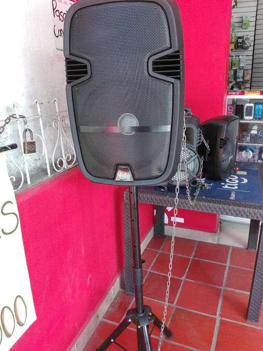 Cabina 12 Pulg con Trípode Y Microfono