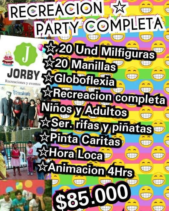 Recreacionista Y Animadores de Fiestas