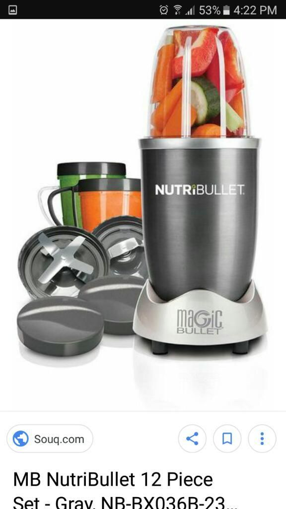 Procesador de Alimentos Nutribullet