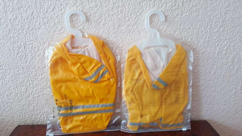 Chaleco Impermeable Perros Pequeños