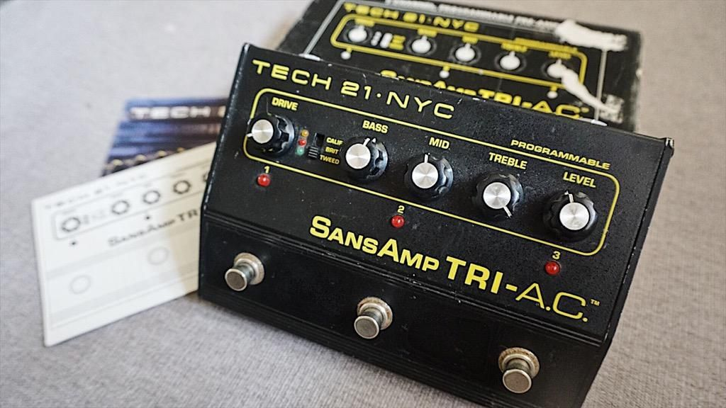 Sansamp Tri Ac Preamp Distorsion Guitar