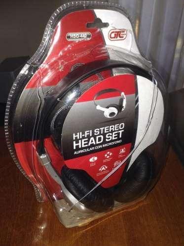 Auricular GTC HSG 440 nuevo con microfono y volumen