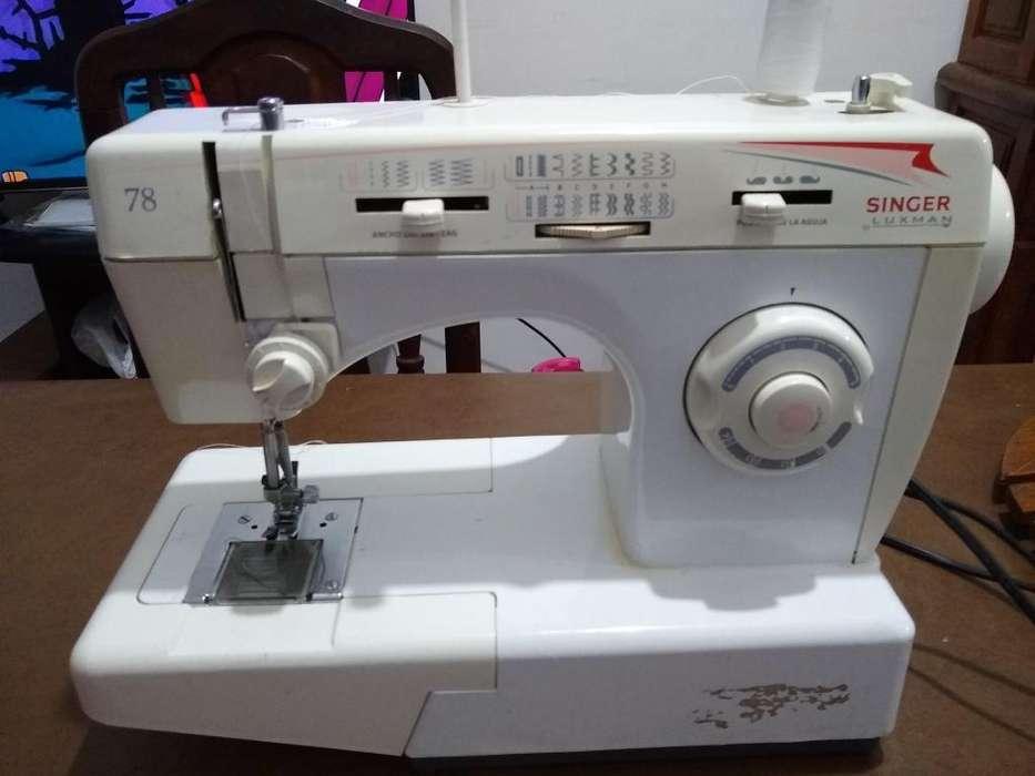 Vendo Maquina de Coser Singer Luxman 78
