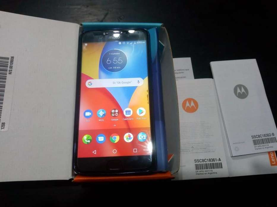 Moto E4 Plus Huella Digital Liberado