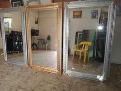 Espejos Decorativos en Madera 150x80cm