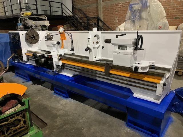 Torno Moderno aleman DMTG 3000 x 760 mm husillo 4 pulgadas