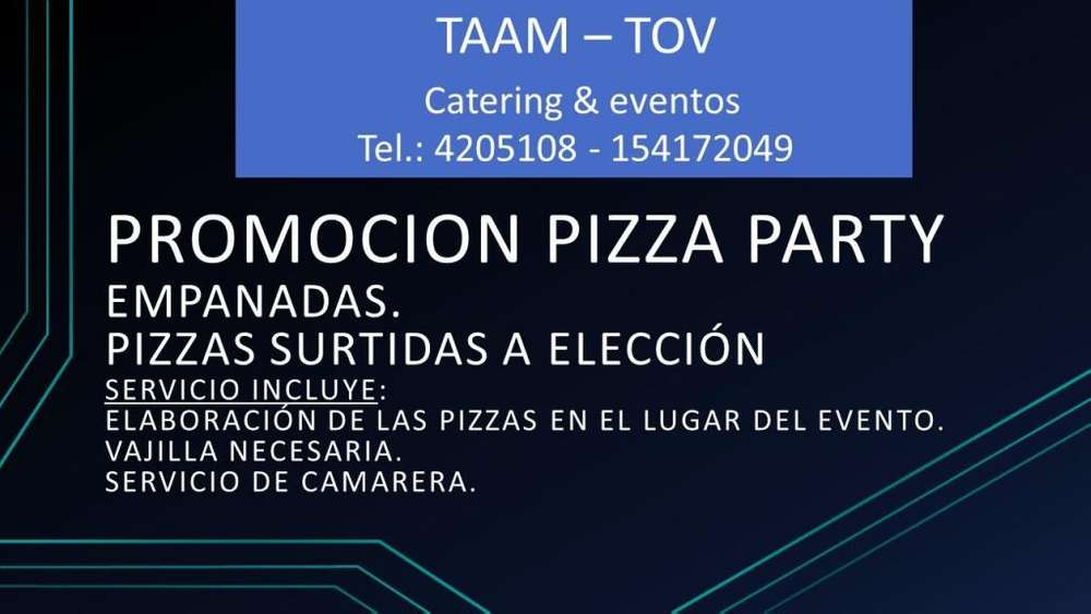 PROMOCION PIZZA PARTY