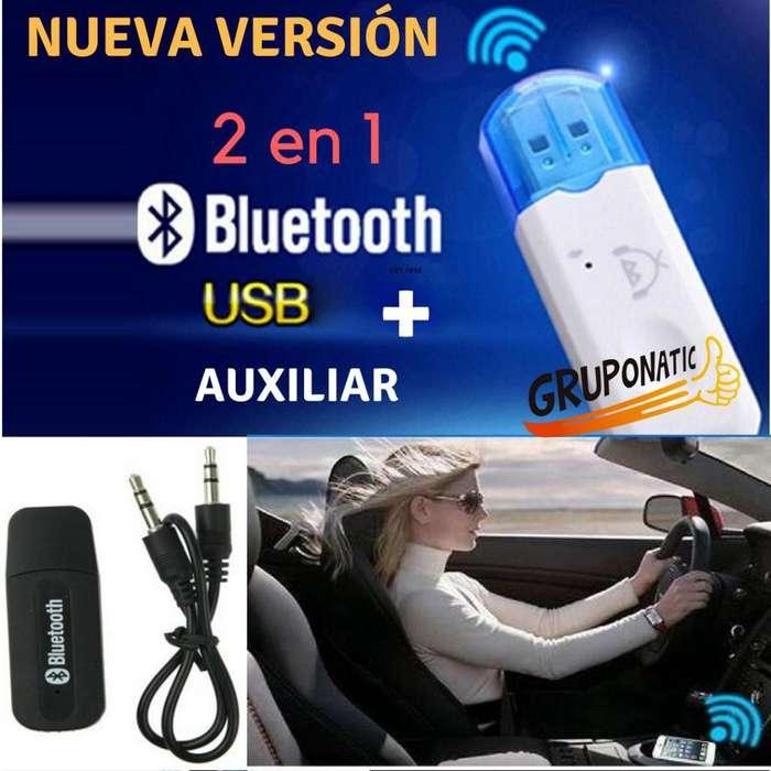 Receptor Usb Bluetooth Para Auto Equipo De Sonido Gruponatic San Miguel Surquillo Independencia La Molina 941439370