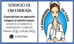 Enfermería/cuidado de adulto MAYOR
