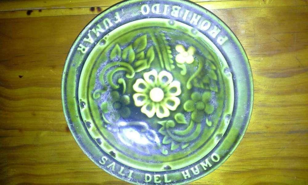 Cenicero de Ceramica