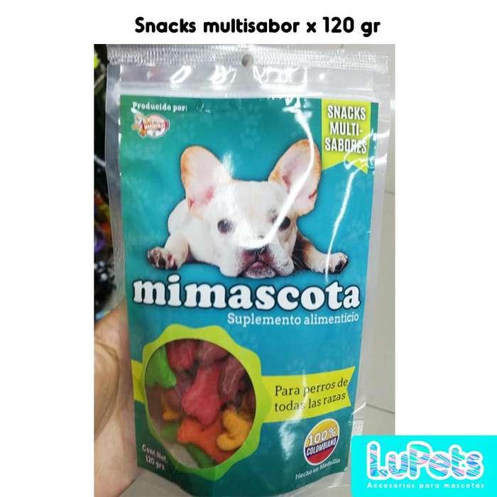 snackscomida para perrosmascotas120gr