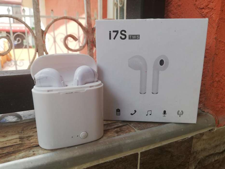 Auriculares Bluetooth I7s Tws Poco Uso
