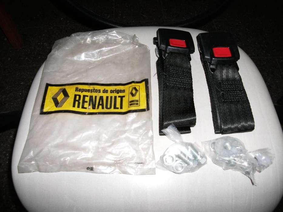 Cinturones de Seguridad Traseros Originales Renault OKM.