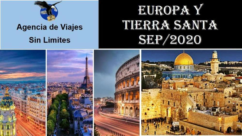 viaja en 2020 a MÉXICO y a EUROPA con TIERRA SANTA