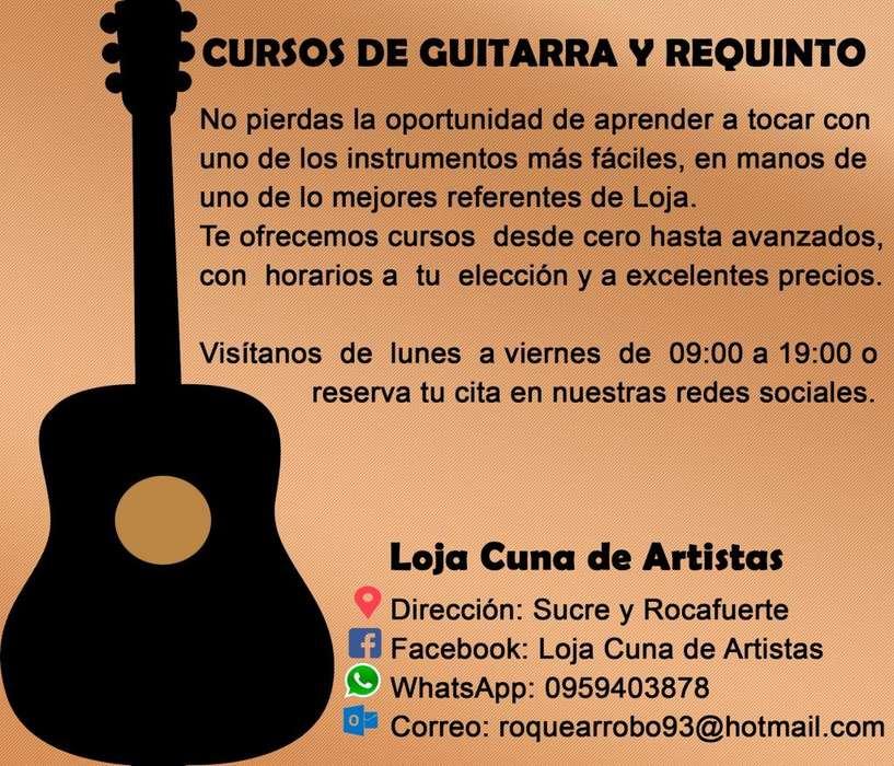 Cursos de Guitarra y Requinto