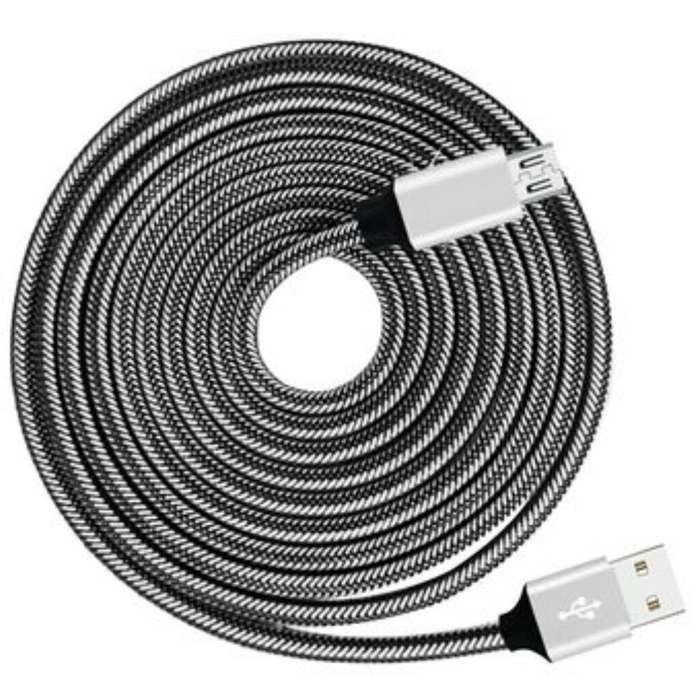 Cable Carga Rapida Mallado O Fibra