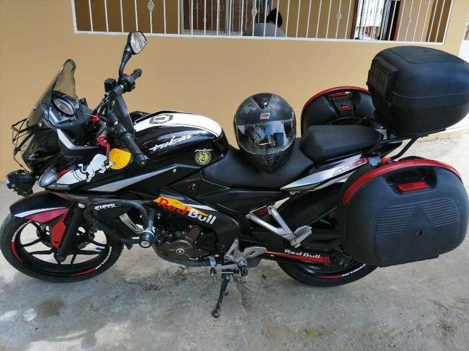 Motocicleta Pulsar As 200