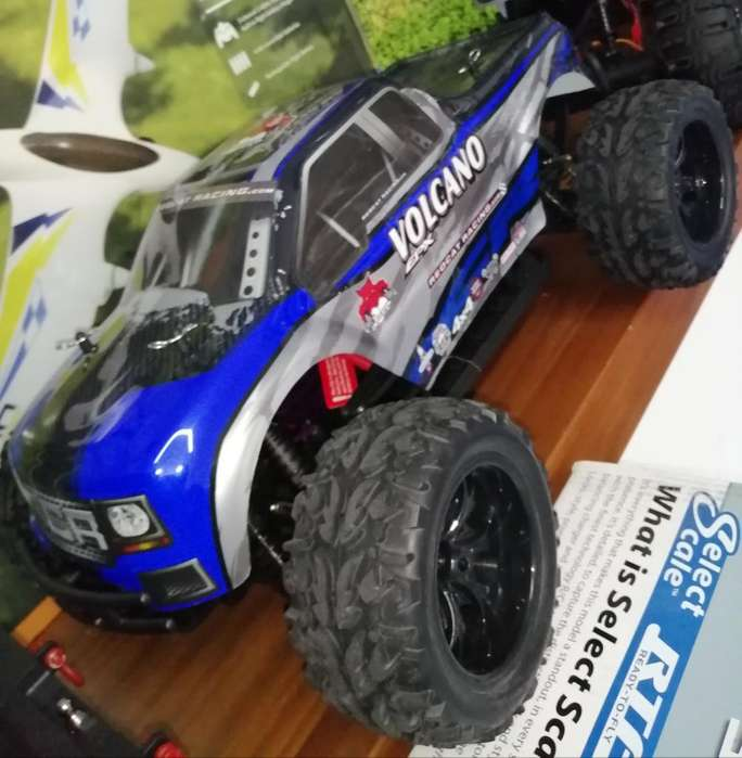 Carro Monster Truck Volcano Epx. Rc.