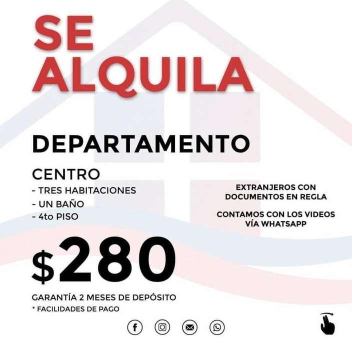 ALQUILO DEPARTAMENTOS EN CENTRO SUR