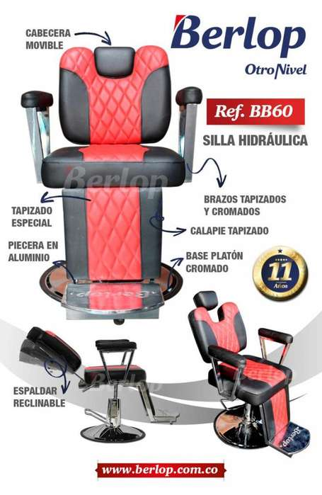 Silla de barbería Ref. BB60