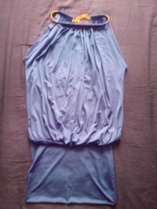 Vestido Azul Electrico Talla S.