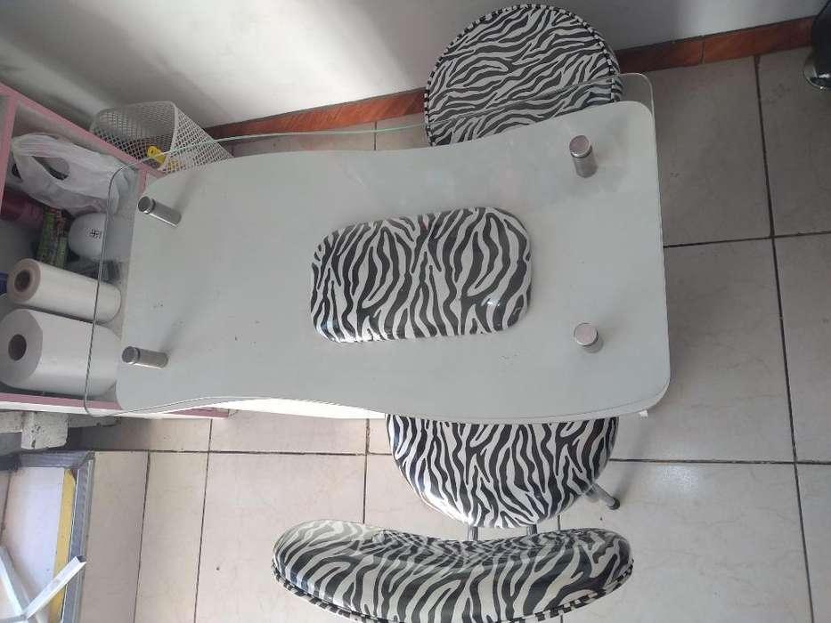 Mueble de Manicure 3 Piezas
