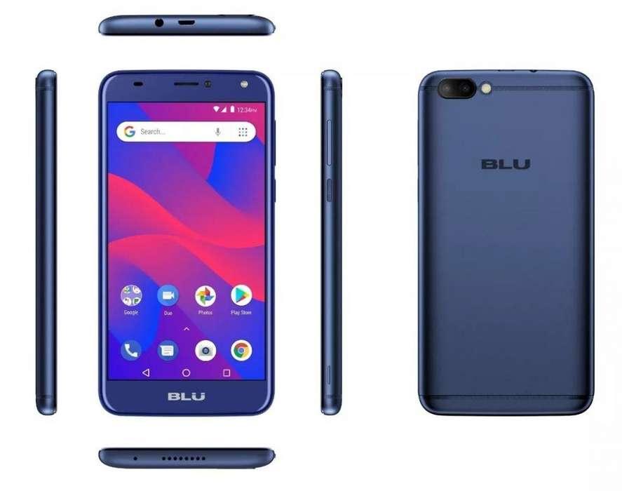Celular Blu C6 5.5hd Quad Core 1 Gb Ram Android 8.1 Oreo