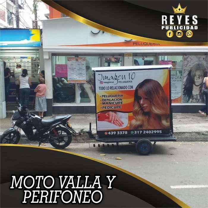 SERVICIO DE PERIFONEO EN MOTO VALLA CALI PUBLICIDAD IMPRESA VISUAL GRABACIONES DE AUDIO SONIDO CUÑAS VOLANTEROS