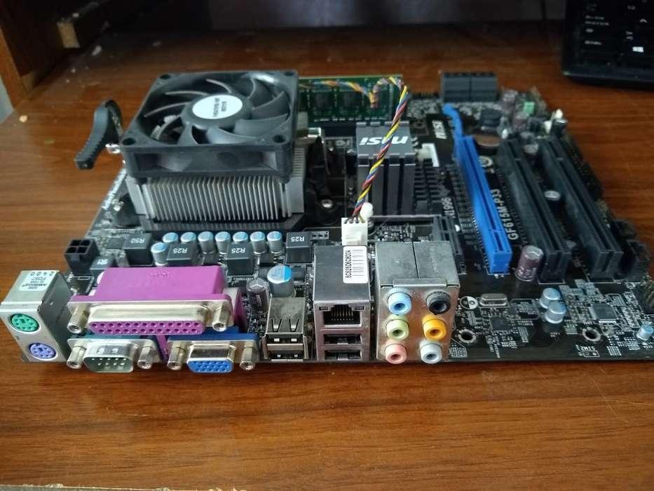 Combo Board, Procesador Y Memoria