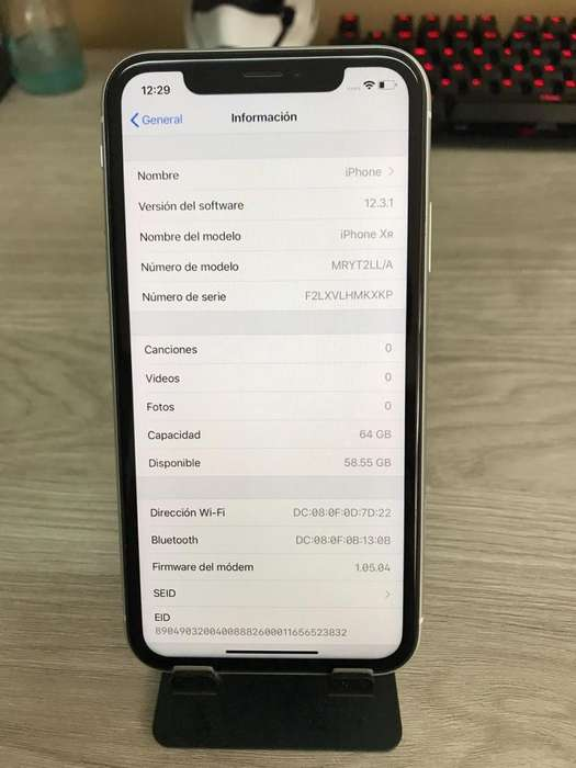 Vendo iPhone Xr Blanco 64gb Como Nuevo O Cambio