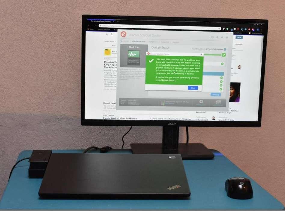 Thinkpad T470s(con Garantia) con Dock mas monitores