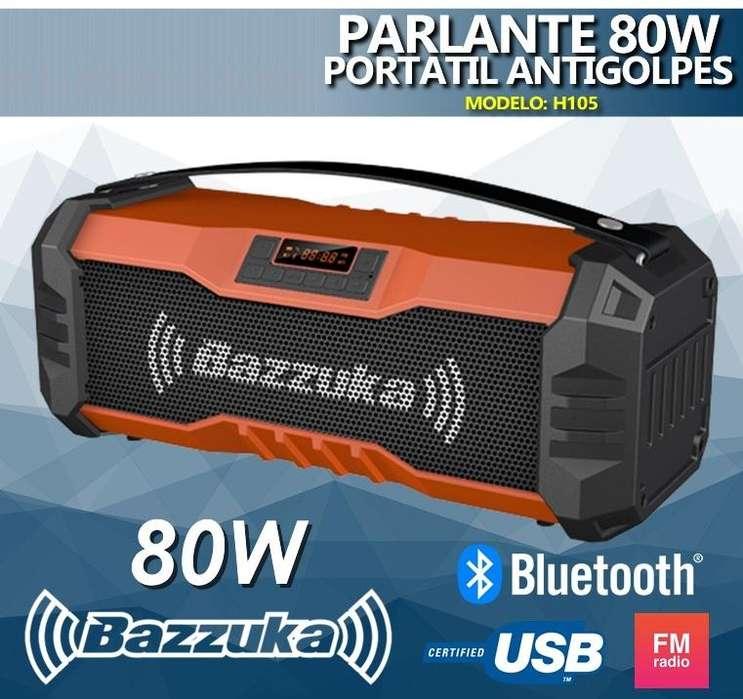 Parlante Bazzuka Bluetooth Potente