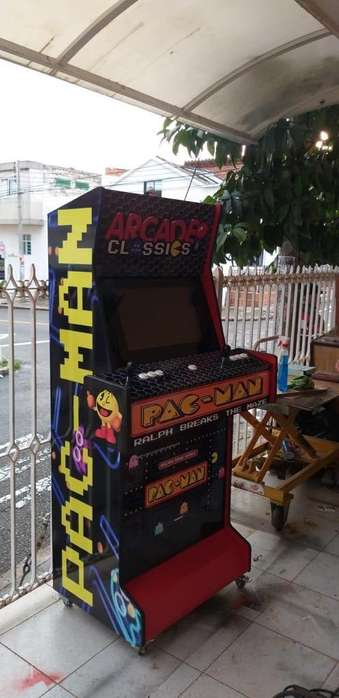 Maquina Monedera Videojuego Arcade !!