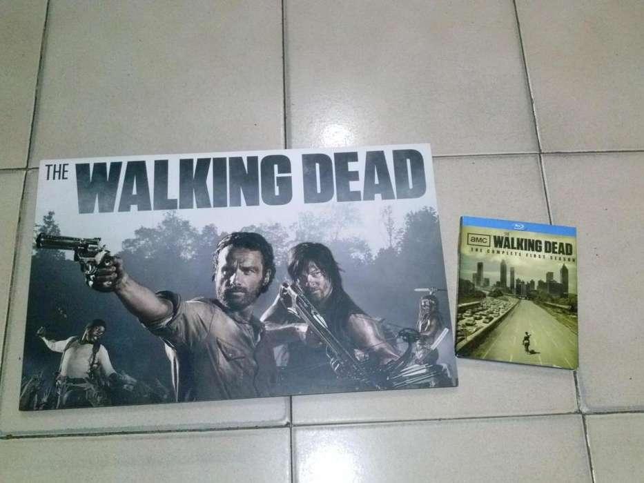 The Walking Dead Blu Ray 1 temporada Oiriginal