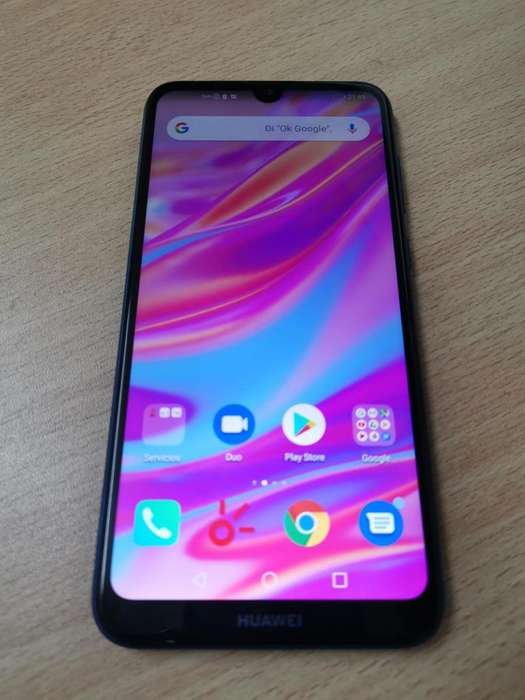 VENDO Huawei Y7 2019 LIBRE IMPECABLE