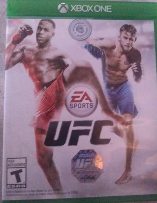 Juego U F C Xbox One.