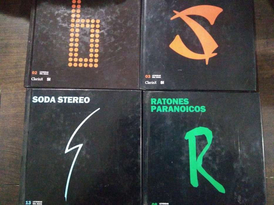 Colección Leyendas Del Rock Nacional