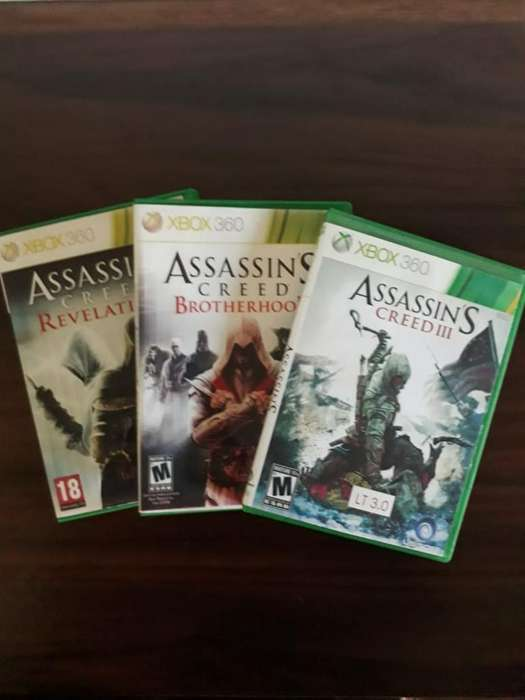 Vendo Juegos de Xbox360