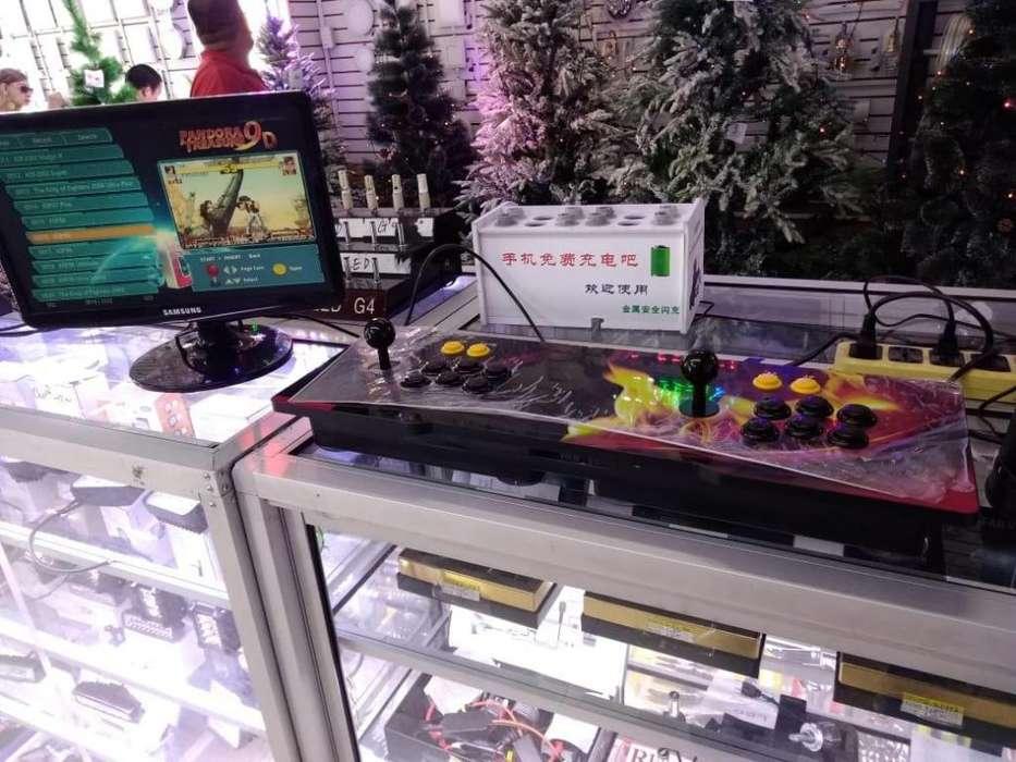 Consola Máquina de juegos Retro Arcade Pandora treasura 9d Game 2222