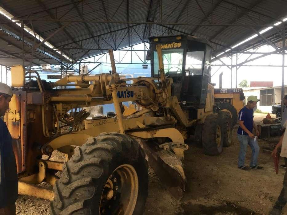 komatsu motoniveladora tractor 100% operativo