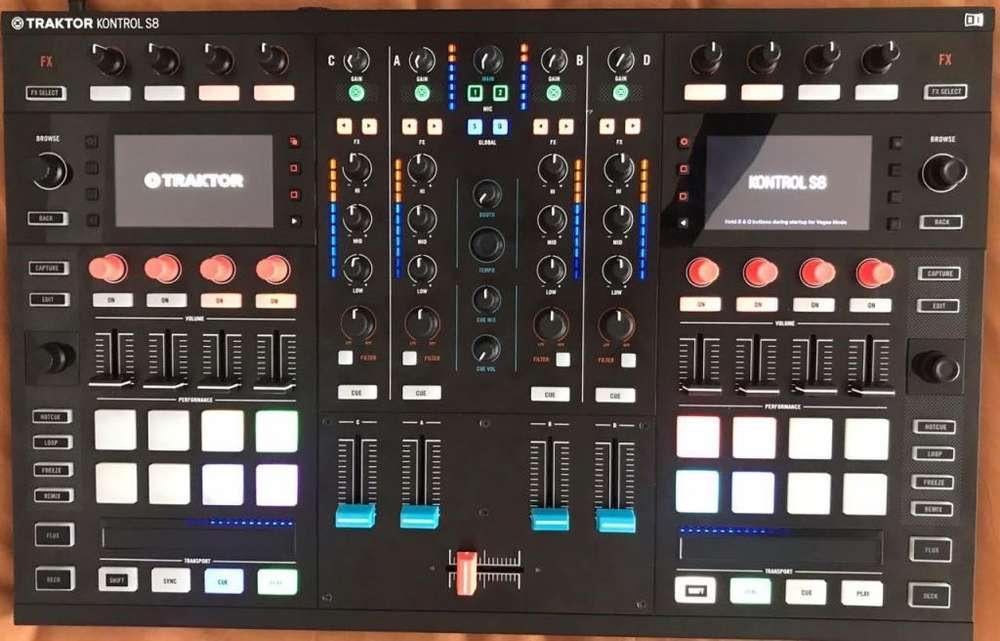 Controlador de DJ TRAKTOR S8 Maletín Original GATOR Licencia de Software TRAKTOR PRO 2