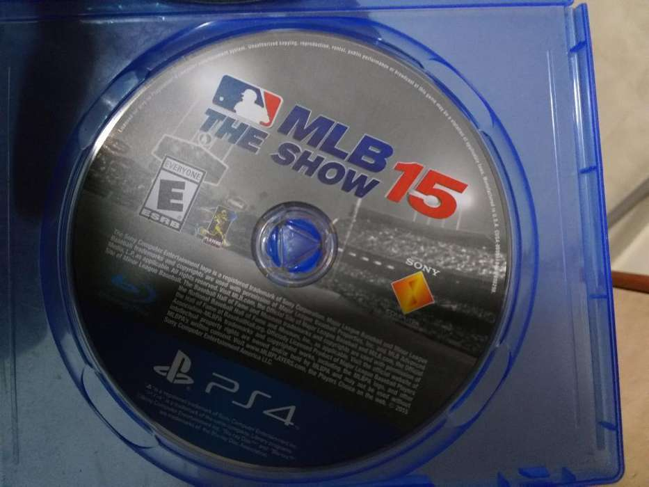 Juego Ps4 Beisbol Mlb The Show 15