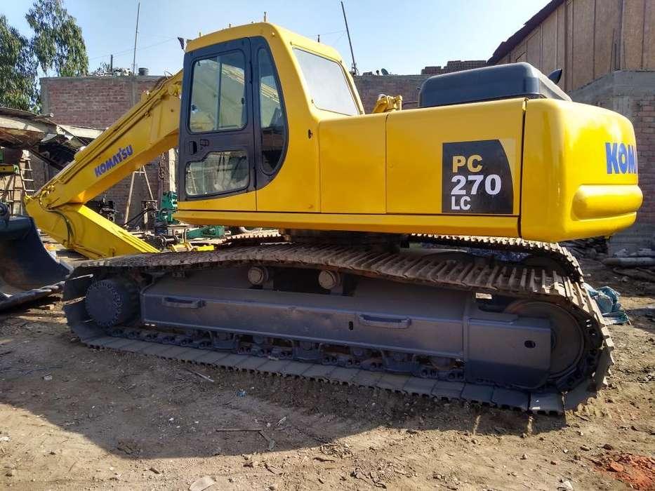 Se Vende Excavadora Komatsu Pc270