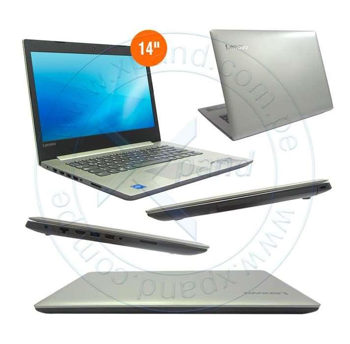 NOTEBOOK LENOVO IDEAPAD 320, 14, INTEL CELERON N3350 1.10GHZ, 4GB DDR3L, 500GB SATA.