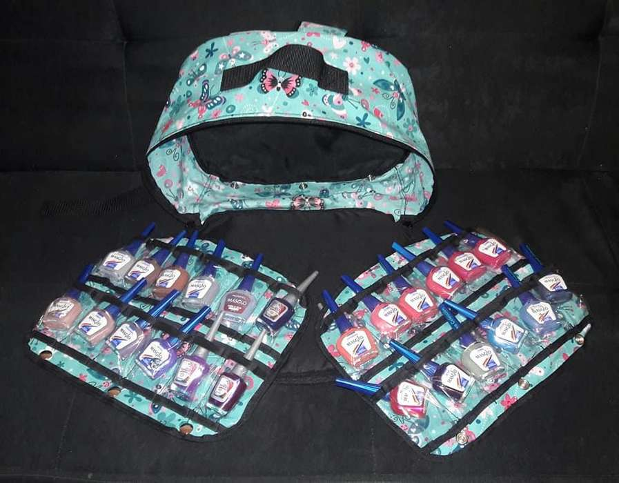 bolsos para guardar esmaltes