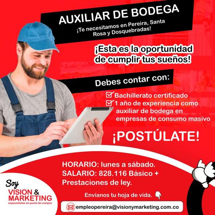 EMPLEO <strong>auxiliar</strong> DE BODEGA