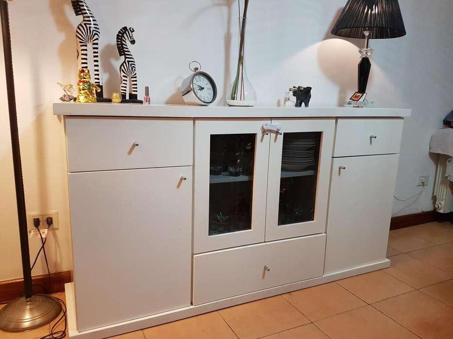 Vajillero laqueado Vajillero estilo campo mueble contemporáneo