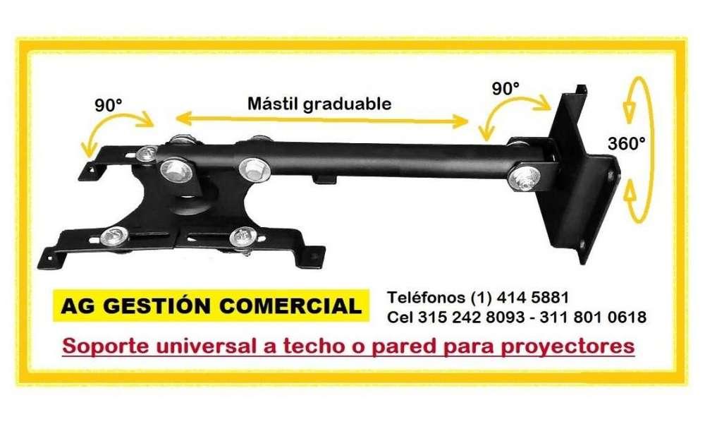 Base video beam Soporte para proyector a techo o pared, Cel 315 242 8093